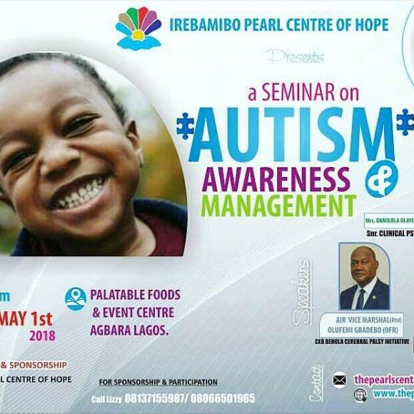 Autism Awareness Seminar!